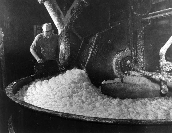 Image of paper pulp being mixed