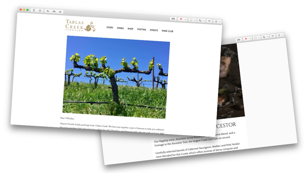Image of Winery Emails