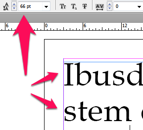 Leading in InDesign