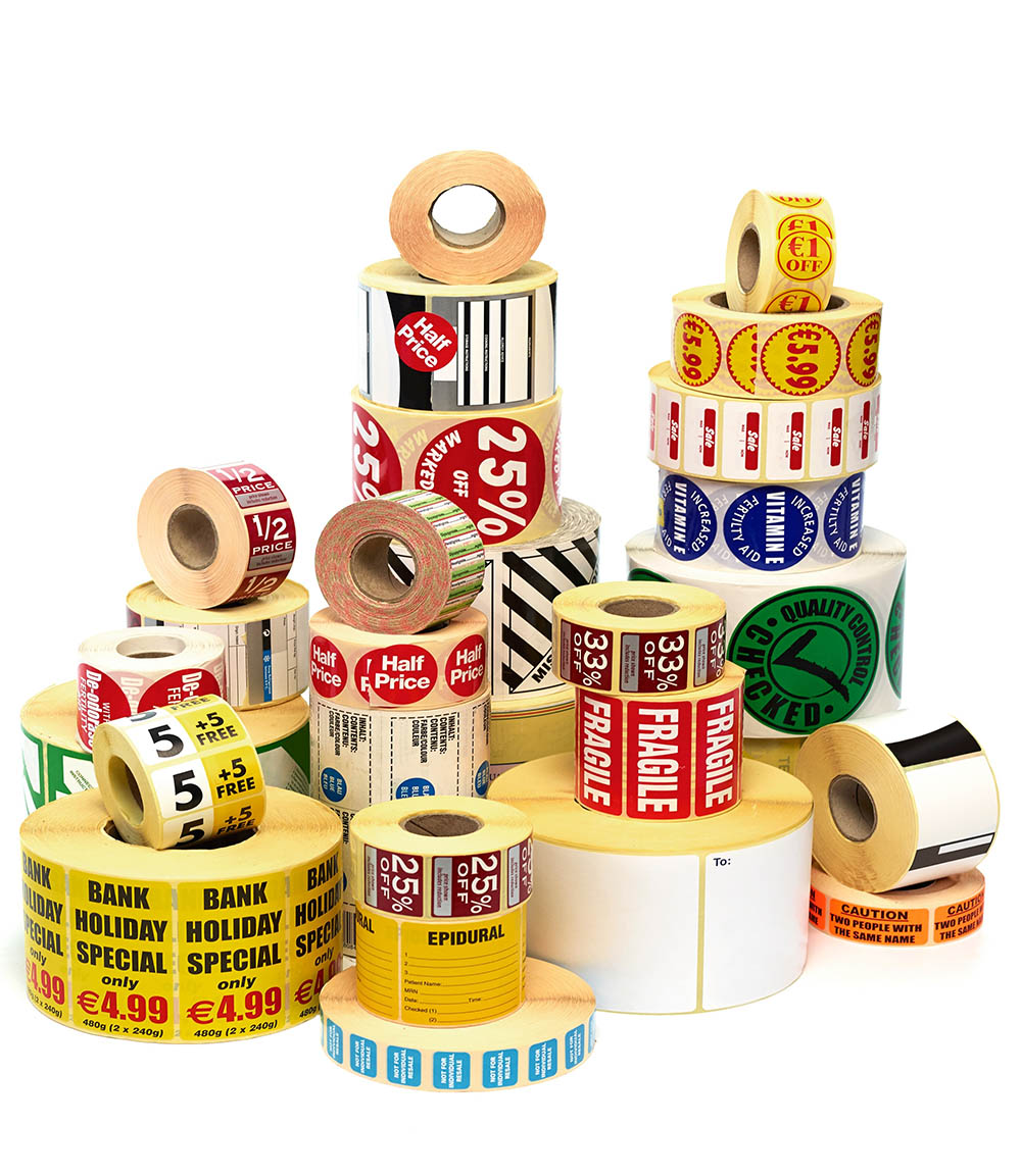 Image of roll labels