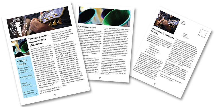 How to Create a Newsletter in InDesign – Indesign Newsletter