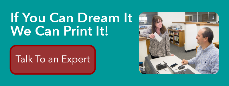 Click here to connect with one of Casey Printing's Experts