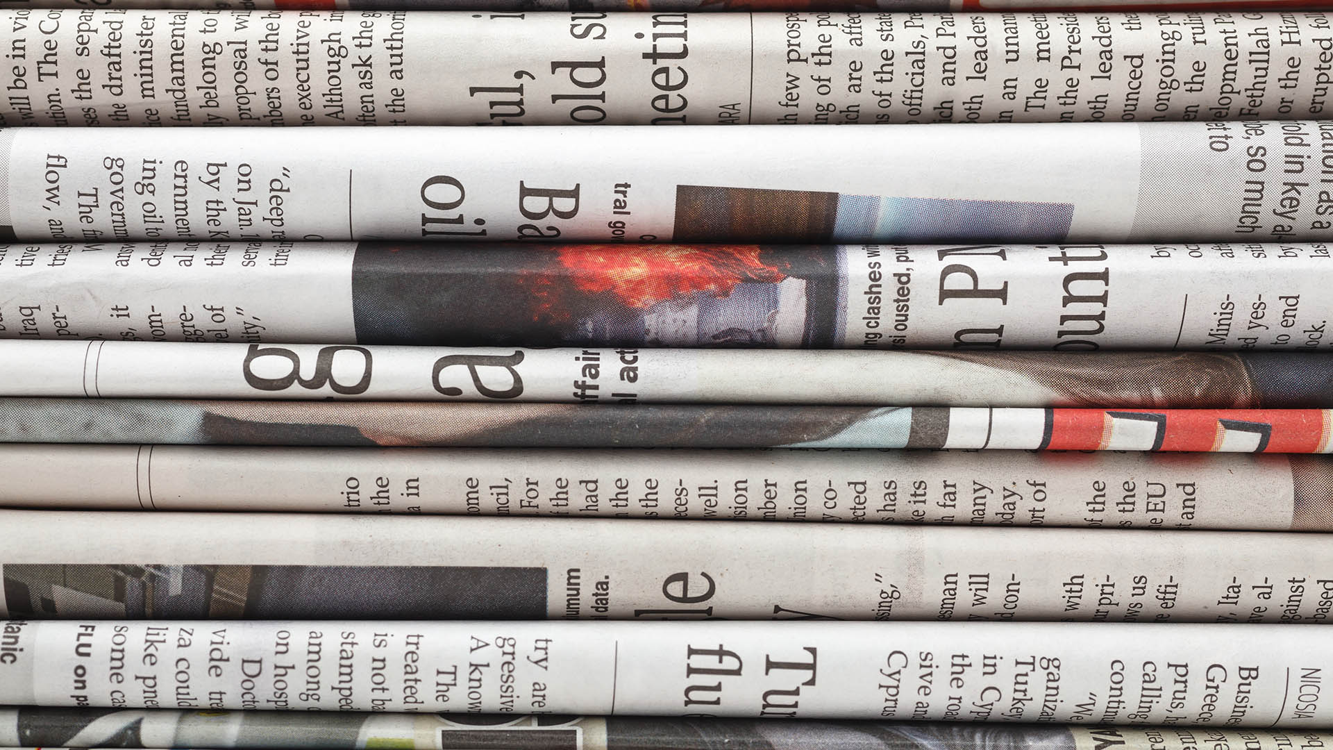5 Tips for Designing on Newsprint