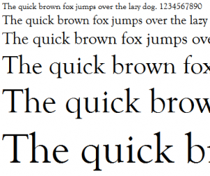 Goudy Old Style, the Graceful Typeface