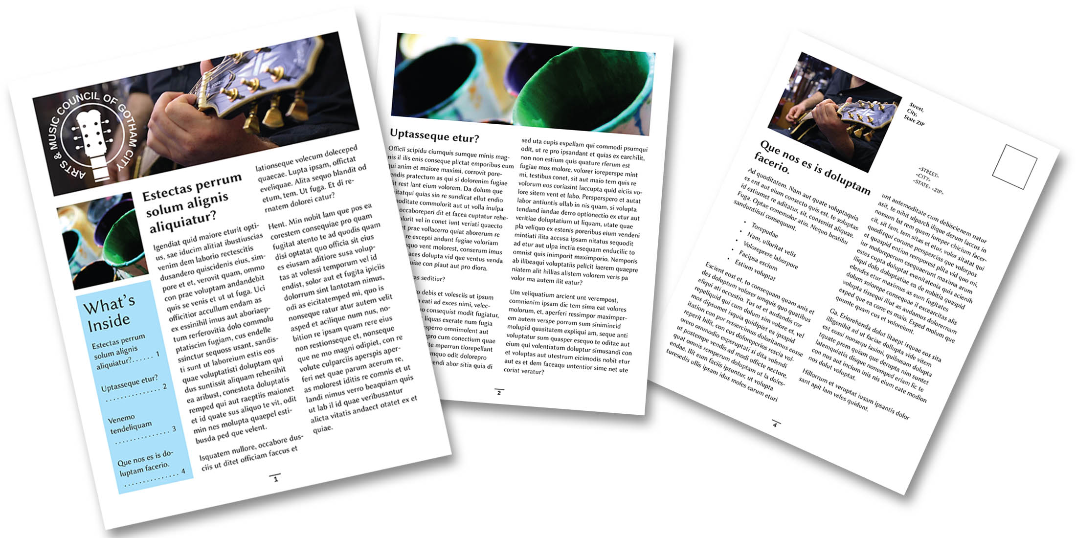 How to Create a Newsletter in InDesign